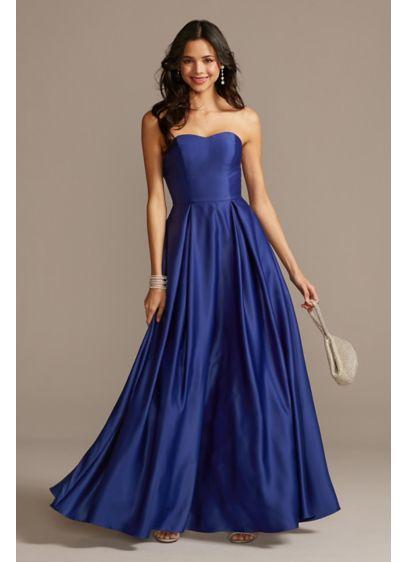 Long Ballgown Strapless Formal Dresses Dress - Speechless