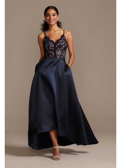 High Low Ballgown Spaghetti Strap Formal Dresses Dress - Speechless