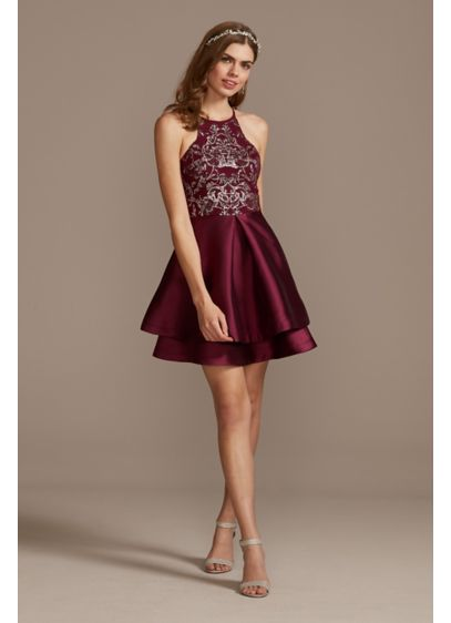 Short Tank Cocktail and Party Dress - Speechless