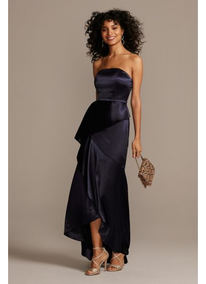 Long Sheath Strapless Formal Dresses Dress - Speechless