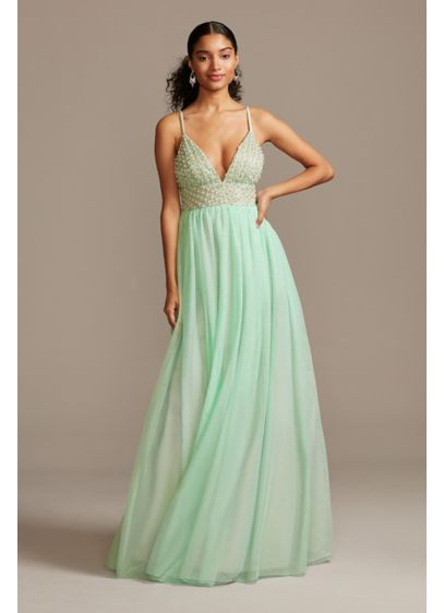 Long Ballgown Spaghetti Strap Formal Dresses Dress - Speechless
