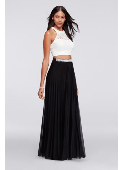 Long Sheath Halter Daytime Dress - Speechless