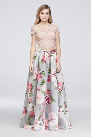 Lace Two-Piece Dresses