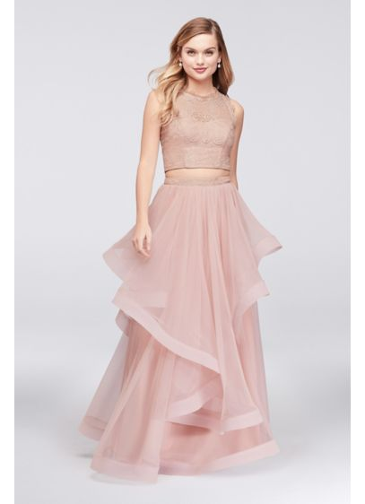Long Ballgown Tank Cocktail and Party Dress - Speechless