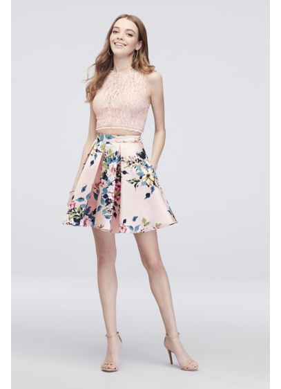 Short Ballgown Tank Cocktail and Party Dress - Speechless