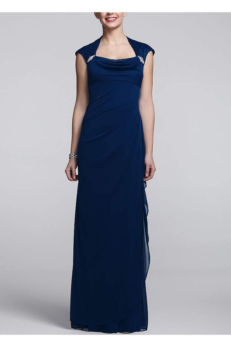 08dcd8495fd6b Long Blue Dresses - Light to Navy Blue Formal Evening Gowns ...