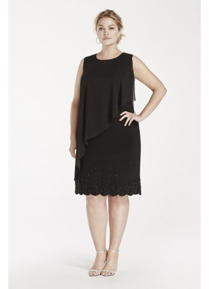 Short Sheath Tank Cocktail and Party Dress - Xscape