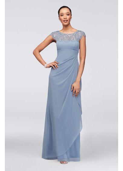 Long Sheath Wedding Dress - Xscape
