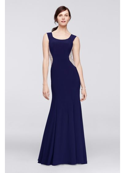 Long Mermaid/ Trumpet Off the Shoulder Formal Dresses Dress - Xscape