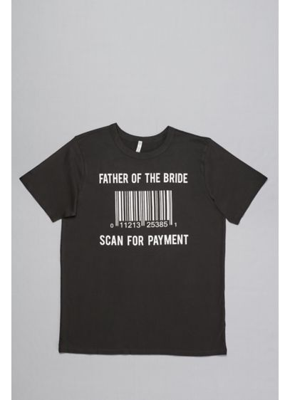 Scan for Payment Dad's Tee - Thanks, dad! Let this soft jersey tee do