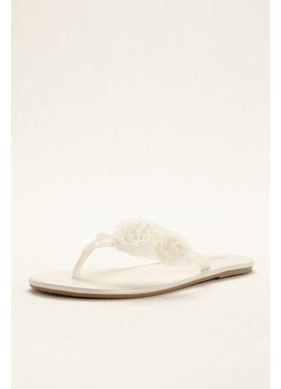 David's Bridal Ivory (Zoey Flip Flop)