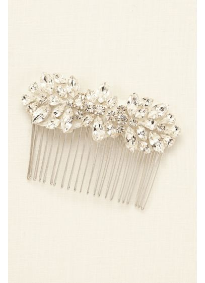 Truly Zac Posen Crystal Hair Comb - Wedding Accessories