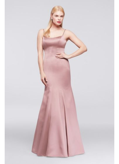 Long Mermaid/ Trumpet Spaghetti Strap Cocktail and Party Dress - Truly Zac Posen