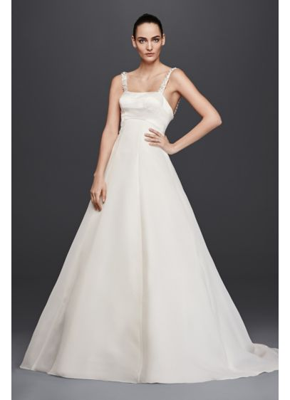 Long A-Line Modern Wedding Dress - Truly Zac Posen