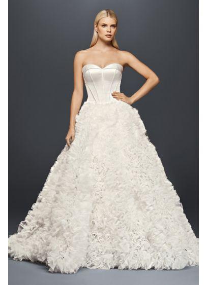 Long Ballgown Glamorous Wedding Dress Truly Zac Posen
