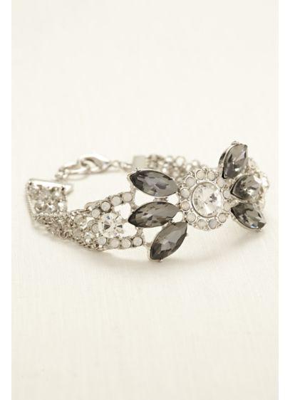 Multi Stone Toggle Bracelet - Wedding Accessories