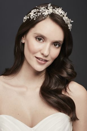 Moldable Crystal Embellished Tiara