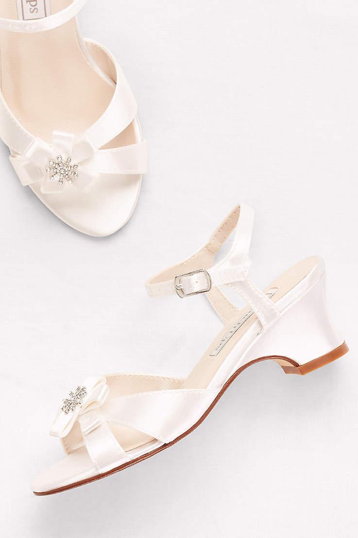 Flower Girl Shoes Girls Dress Shoes Davids Bridal