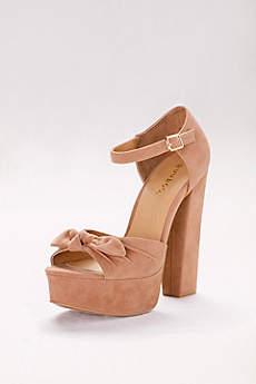 High Platform Ankle-Strap Heels