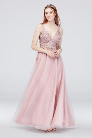 Long Ballgown Tank Dress - David's Bridal