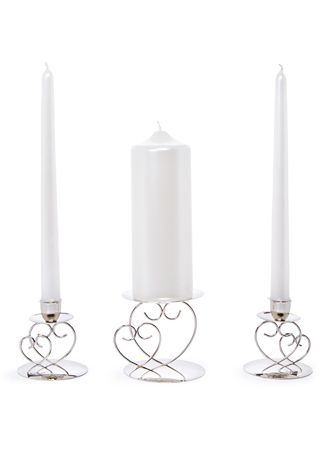 Heart Unity Candle Holder