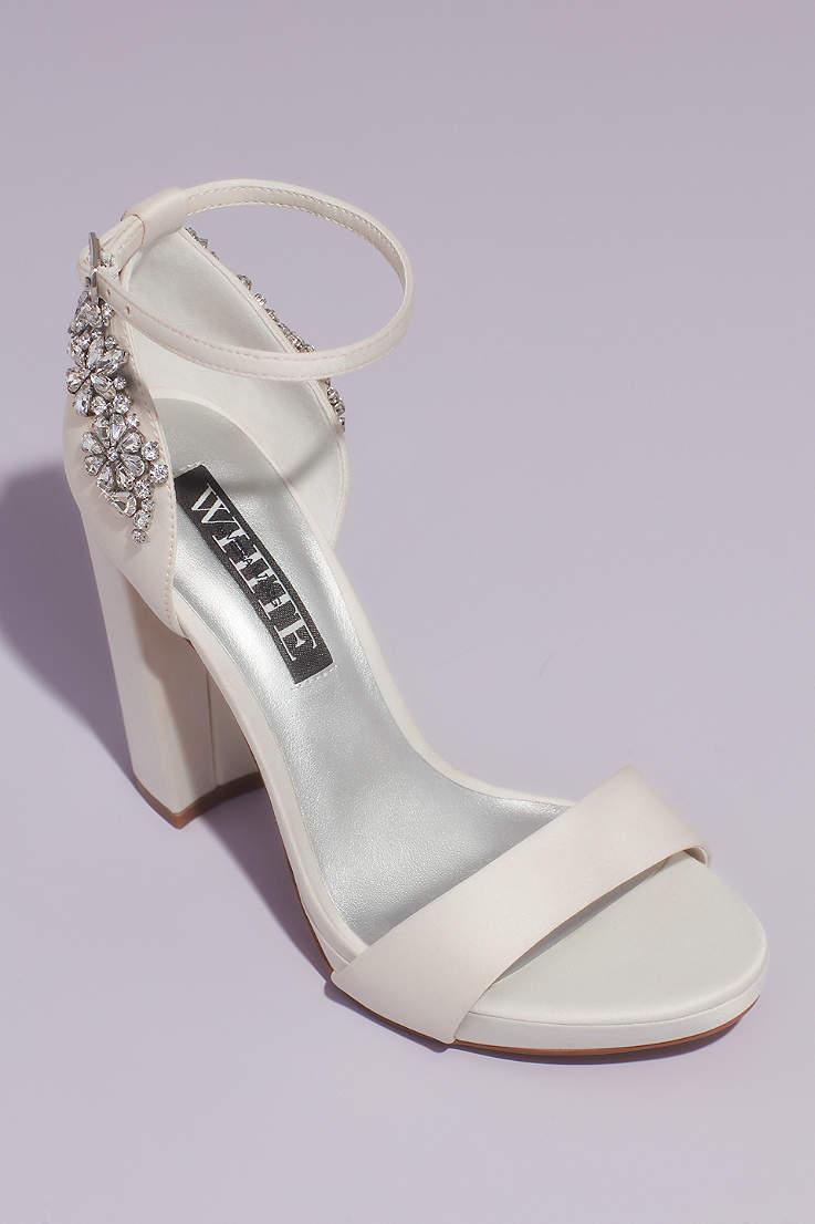 Ivory Wedding Bridal Shoes Flats