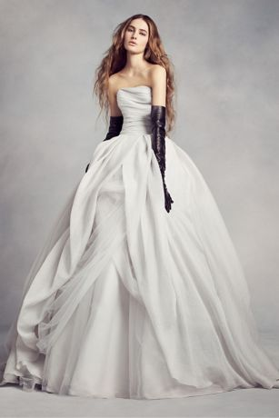 Organza Wedding Dresses and Gowns Davids Bridal