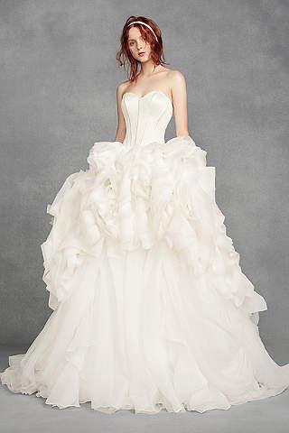 White By Vera Wang Wedding Dresses Gowns Davids Bridal
