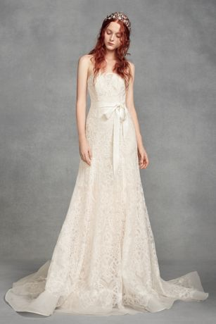 bcbef8d2a83a Vintage Wedding Dresses - Lace & Gown Styles | David's Bridal