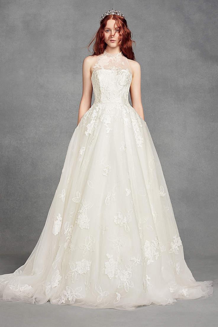 Halter Wedding Dresses Gowns Davids Bridal