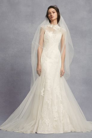 d280c5c81ceb Long Mermaid/ Trumpet Wedding Dress - White by Vera Wang