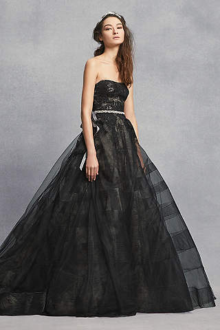 Black Wedding Dresses & Gowns: Plus & Petite | David\'s Bridal
