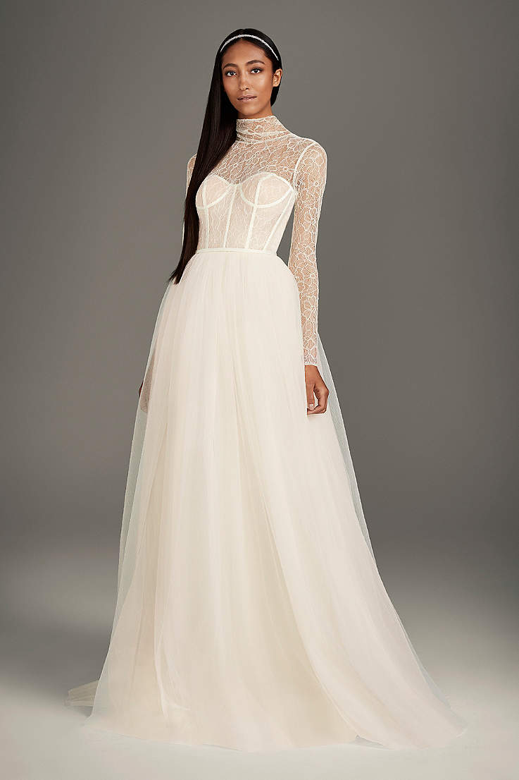 c77c912f7785 Long Ballgown Wedding Dress - White by Vera Wang