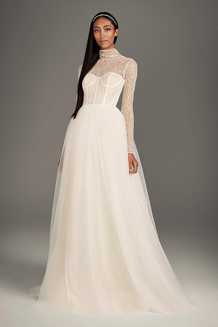 f66f7d1c8402 Long Ballgown Wedding Dress - White by Vera Wang