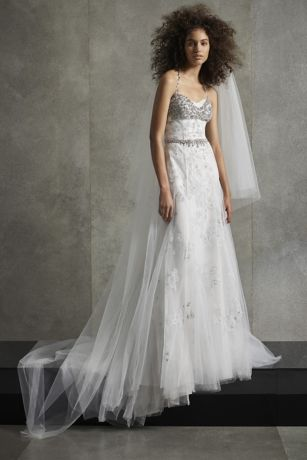 Long Mermaid / Trumpet Wedding Dress - White by Vera Wang