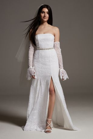 White by Vera Wang Fern Lace Wedding Dress