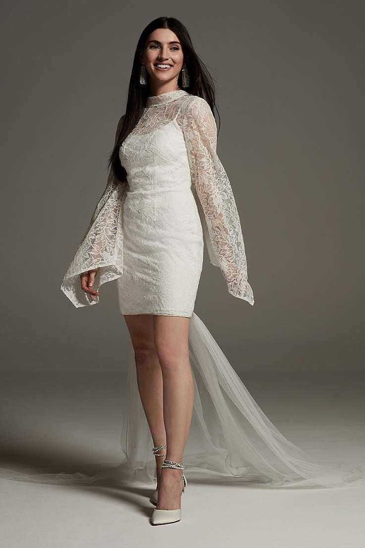 Short Tea Length Wedding Dresses David S Bridal,Black Dress For A Wedding