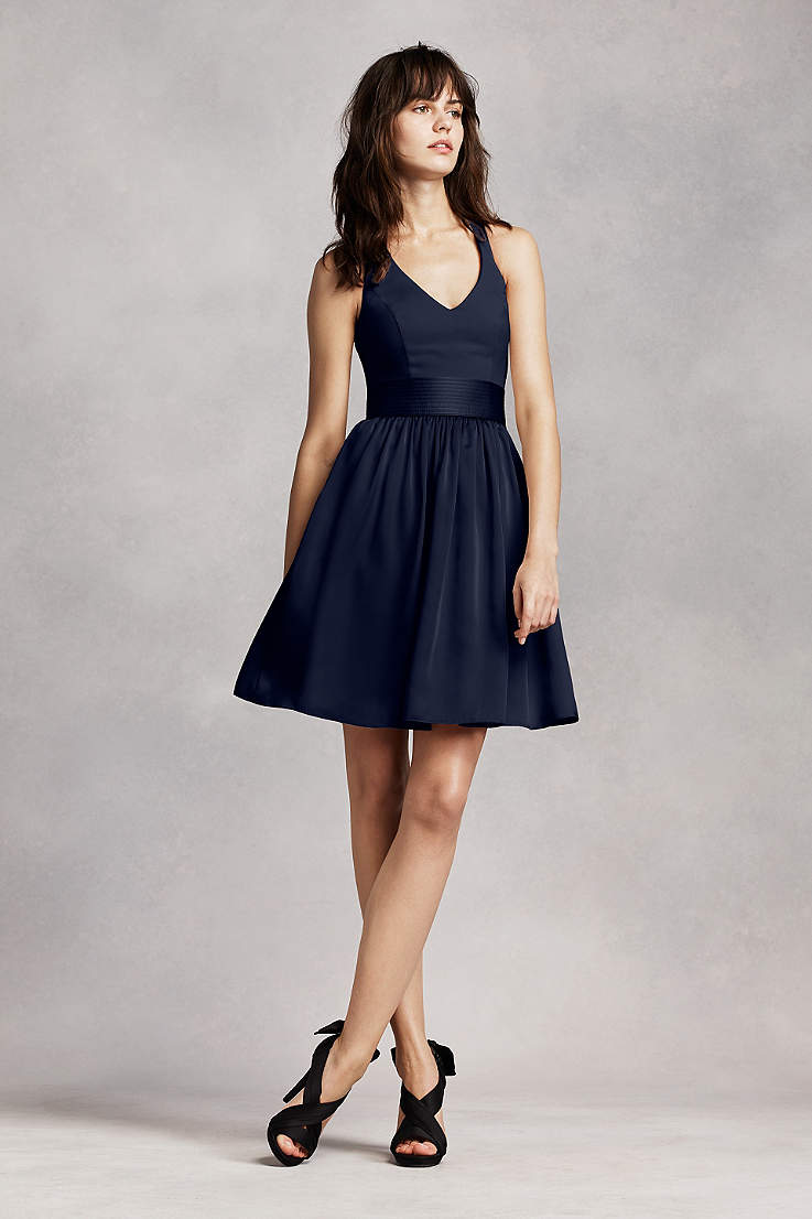 Short Bridesmaid Dresses In Various Styles Davids Bridal