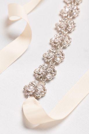 Crystal Cluster Sash