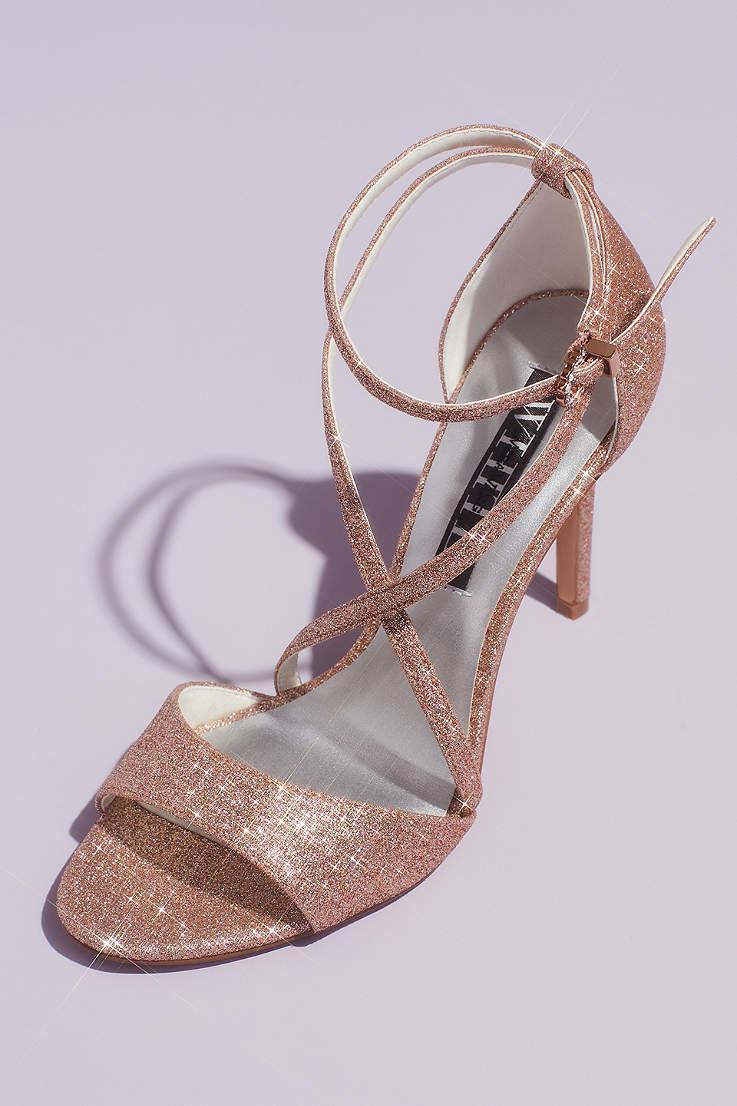 Blue Wedding Shoes And Heels David S Bridal