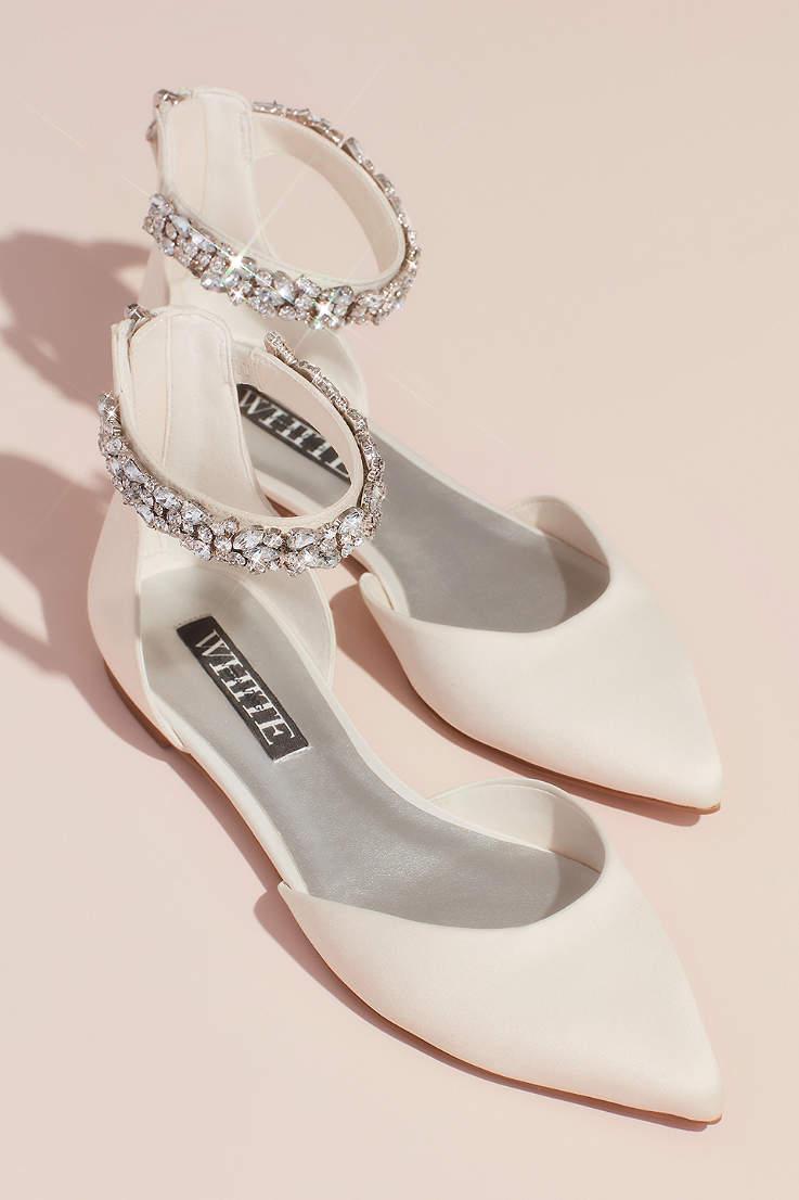White By Vera Wang Shoes Heels Sandals Flats David S Bridal