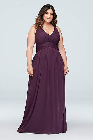 Plus Size Bridesmaid Dresses Davids Bridal