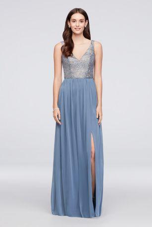 Long A-Line Tank Dress - David's Bridal