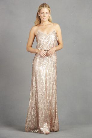 de634fa1da19 Donna Morgan Long Bridesmaid Dress · Donna Morgan