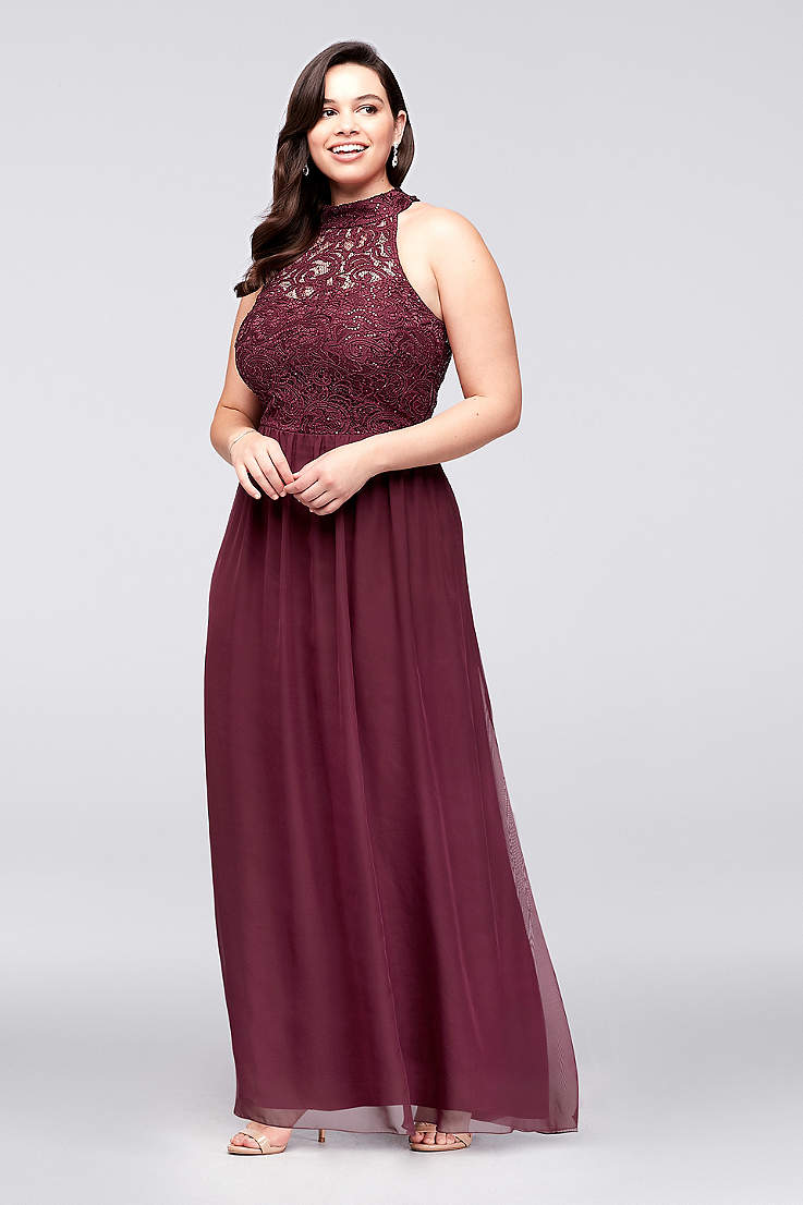 Long A-Line Halter Dress - Speechless b6b8c18c3