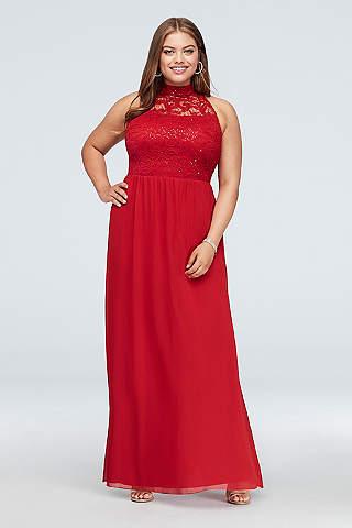 Plus Size Homecoming Dresses | David\'s Bridal