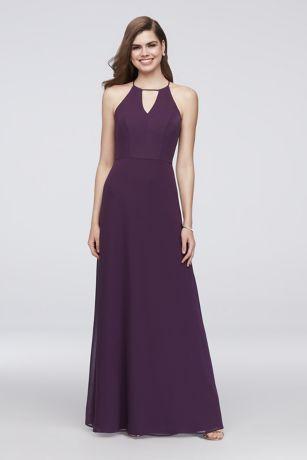 Long Sheath Halter Dress - Reverie