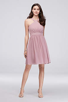 Short Sheath Halter Dress - Reverie