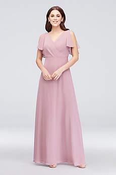 Soft & Flowy Reverie Short Bridesmaid Dress