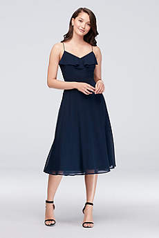 Soft & Flowy Reverie Short Bridesmaid Dress